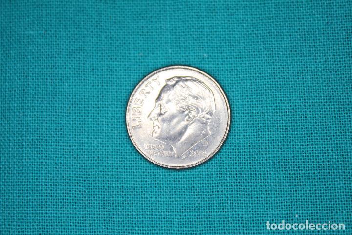 Monedas antiguas de América: Estados Unidos 4 monedas sin circular - Foto 10 - 216712082