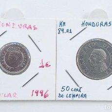 Monedas antiguas de América: LOTE DE MONEDAS DE HONDURAS. Lote 216809170