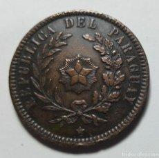 Monedas antiguas de América: 2 CENTÉSIMOS PARAGUAY 1870 XF. Lote 216926137