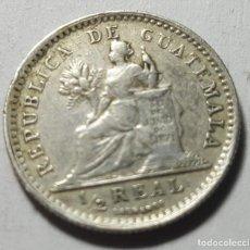 Monedas antiguas de América: ½ REAL GUATEMALA 1894 H PLATA VF. Lote 217017421