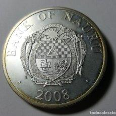Monedas antiguas de América: 10 DÓLARES NAURU 2008 PLATA UNC. Lote 217018205