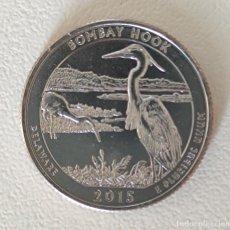 Monedas antiguas de América: CUARTO DE DOLAR USA 2015 D DELAWARE. Lote 217884975