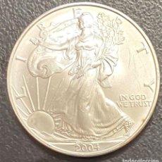 Monedas antiguas de América: MONEDA DE 1 DÓLAR, 1 ONZA DE PLATA AÑO 2004. Lote 218074310