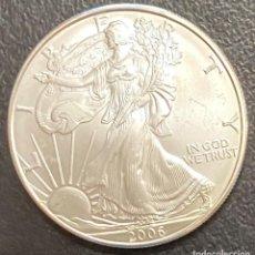 Monedas antiguas de América: MONEDA DE 1 DÓLAR, 1 ONZA DE PLATA AÑO 2006. Lote 218074538