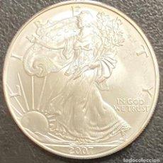 Monedas antiguas de América: MONEDA DE 1 DÓLAR, 1 ONZA DE PLATA AÑO 2007. Lote 218074657
