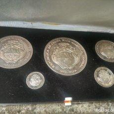 Monedas antiguas de América: COSTA RICA - COLECCIÓN MONEDAS CONMEMORATIVAS - 1970 - COLONES - PLATA PURA, 132 GRS. - EN ESTUCHE. Lote 218284677