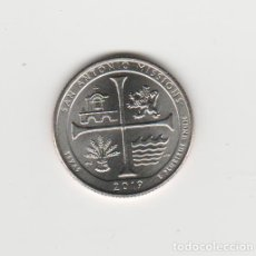 Monedas antiguas de América: ESTADOS UNIDOS- 1/4 DOLAR- TEXAS-SAN ANTONIO MISSIONS-2019-S-SIN CIRCULAR. Lote 218430315