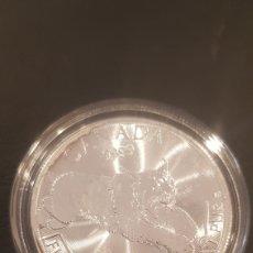 Monedas antiguas de América: 1 OZ PLATA SERIE PREDATOR. CANADA, LINCE 2017. Lote 218491486