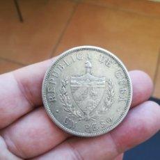 Monete antiche di America: MONEDA DE UN PESO DE CUBA DEL AÑO 1932.DE PLATA. ORIGINAL%. Lote 217474957