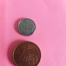 Monedas antiguas de América: MONEDA URUGUAY 1 NUEVO PESO 1989. Lote 218811788