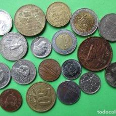 Monedas antiguas de América: LOTE DE 18 MONEDAS DIFERENTES AMERICANAS. LIBRERÍA O´RECUNCHO. LOTE 7.. Lote 218815538