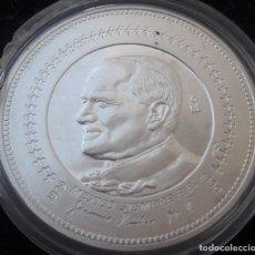 Monete antiche di America: 1 ONZA DE PLATA PURA 999, BASÍLICA DE GUADALUPE 1979. Lote 218960362