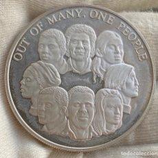 Monedas antiguas de América: 10 DÓLARES 1978 JAMAICA MONEDA DE PLATA 42,80 G LEY 925. Lote 218979145