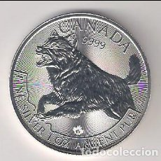 Monedas antiguas de América: MONEDA 5 DÓLARES DE CANADÁ DE 2018. PLATA. SIN CIRCULAR (ME330). Lote 219077591