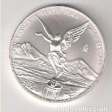 Monedas antiguas de América: MONEDA DE 1 ONZA DE MÉJICO DE 2000. PLATA. SIN CIRCULAR. WORLD COINS-KM#639 (ME598). Lote 219407840