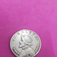 Monedas antiguas de América: UN BALBOA, PLATA ,AÑO 1931 REPUBLICA DE PANAMA. Lote 219432452