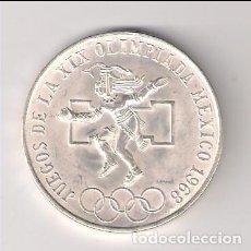 Monedas antiguas de América: MONEDA DE 25 PESOS DE MÉJICO DE 1968. PLATA. SIN CIRCULAR- (ME803). Lote 220077235