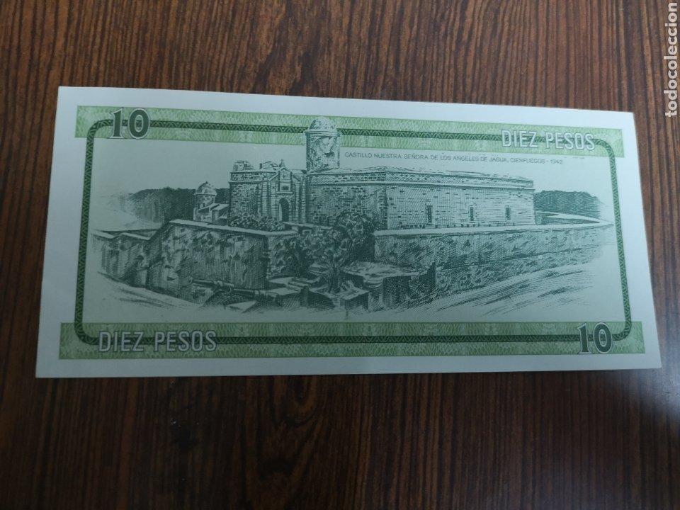 Monedas antiguas de América: 172B. BILLETE DE CUBA. 10 PESOS. - Foto 2 - 220447860