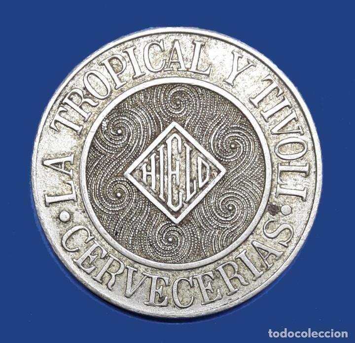 CUBA TOKEN CERVECERIAS LA TROPICAL Y TIVOLI LA HABANA (Numismática - Extranjeras - América)