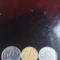 Monedas antiguas de América: BRASIL 3 MONEDAS. Lote 221570945