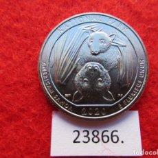 Monnaies anciennes d'Amérique: ESTADOS UNIDOS DE AMERICA , 25 CENTIMOS 1/4, 2020 P, USA , SAMOA, CUARTO, QUARTERS. Lote 221755233