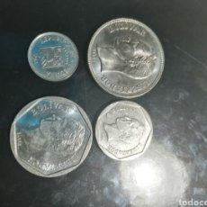 Monedas antiguas de América: 4 MONEDAS DE VENEZUELA. Lote 221844782