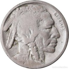 Monedas antiguas de América: MONEDA, ESTADOS UNIDOS, BUFFALO NICKEL, 5 CENTS, 1917, U.S. MINT, PHILADELPHIA. Lote 221973133