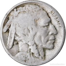 Monedas antiguas de América: MONEDA, ESTADOS UNIDOS, BUFFALO NICKEL, 5 CENTS, 1925, U.S. MINT, PHILADELPHIA. Lote 221976706