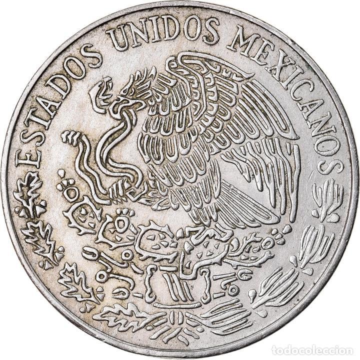 MONEDA, MÉXICO, 5 PESOS, 1972, MEXICO CITY, MBC+, COBRE - NÍQUEL, KM:472 (Numismática - Extranjeras - América)