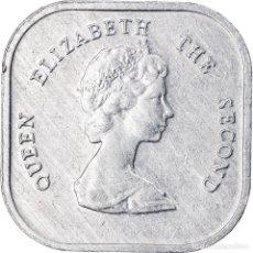 Monedas antiguas de América: MONEDA, ESTADOS DEL CARIBE ORIENTAL , ELIZABETH II, 2 CENTS, 2000, MBC. Lote 221986020