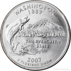 Monedas antiguas de América: MONEDA, ESTADOS UNIDOS, QUARTER, 2007, U.S. MINT, PHILADELPHIA, MBC+, COBRE -. Lote 221986250