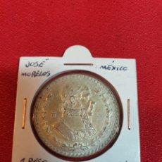 Monedas antiguas de América: ANTIGUA MONEDA DE PLATA MÉXICO 1961. Lote 222285307