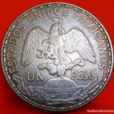 Monedas antiguas de América: MEXICO, 1 PESO, 1910 (EL CABALLITO). PLATA. GRAN CALIDAD. (17). Lote 222291136