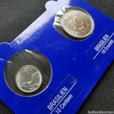 Monedas antiguas de América: BRASIL. 10 CENTAVOS + 10 CRUZADOS. SC. (02). Lote 222291158