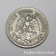 Monnaies anciennes d'Amérique: 601,, RARA MONEDA DE 20 CENTAVOS DE LOS ESTADOS UNIDOS DE MÉJICO - MEXICO AÑO 1939. PLATA. MBC+. Lote 222375032