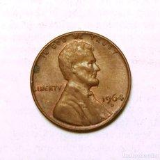 Monedas antiguas de América: 1 CENT-U.S.A. (1964D). Lote 222416701