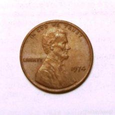 Monedas antiguas de América: 1 CENT-U.S.A. (1974). Lote 222416991