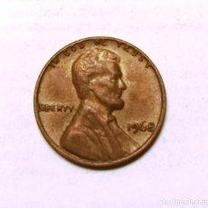 Monedas antiguas de América: 1 CENT-U.S.A. (1968). Lote 222417088