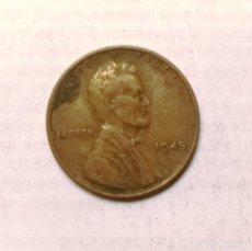 Monedas antiguas de América: 1 CENT-U.S.A. (1945). Lote 222420221