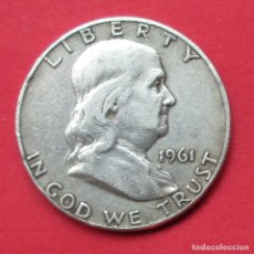 Monedas antiguas de América: USA. MONEDA DE 1/2 DOLAR. 1961 D. PLATA.. Lote 222434906