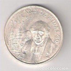 Monedas antiguas de América: MONEDA DE 5 PESOS DE MÉJICO DE 1953. PLATA. EBC. BICENTENARIO DEL NACIMIENTO DE HIDALGO. (ME323).. Lote 222568397