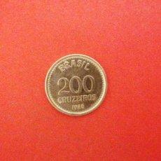 Monedas antiguas de América: 200 CRUZEIROS DE BRASIL 1985. Lote 222587950