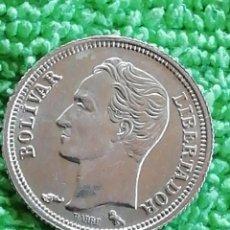 Monnaies anciennes d'Amérique: 25 CÉNTIMOS VENEZOLANO DE PLATA 1960.. LEY 835. 25GR. CE. Lote 222667822