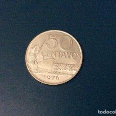 Monedas antiguas de América: 50 CENTAVOS, 1976. BRASIL. Lote 222718006