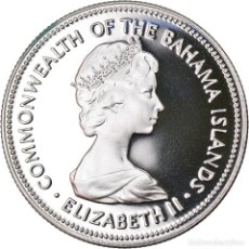 Monedas antiguas de América: MONEDA, BAHAMAS, ELIZABETH II, 50 CENTS, 1973, FRANKLIN MINT, U.S.A., FDC. Lote 222718985