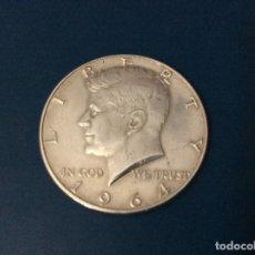 Monedas antiguas de América: U.S.A. HALF DOLLAR, 1964 D ( PLATA ). Lote 222719938