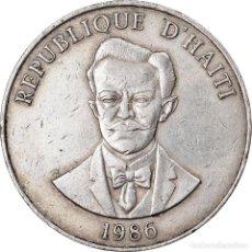 Monedas antiguas de América: MONEDA, HAITÍ, 50 CENTIMES, 1986, MBC, COBRE - NÍQUEL, KM:153. Lote 222722827