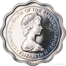 Monedas antiguas de América: MONEDA, BAHAMAS, ELIZABETH II, 10 CENTS, 1973, FRANKLIN MINT, U.S.A., FDC, COBRE. Lote 222722975
