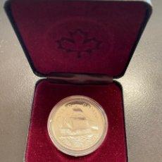 Monedas antiguas de América: CANADÁ, MONEDA DE 1 DÓLAR DE PLATA DEL AÑO 1979. Lote 222745121