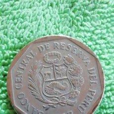 Monedas antiguas de América: MONEDA DE PERÚ DEL 2007 UN NUEVO SOL. COBRE Y NÍQUEL.. Lote 222797320